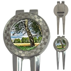 Trees Golf Pitchfork & Ball Marker by Siebenhuehner