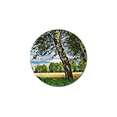 Trees Golf Ball Marker by Siebenhuehner