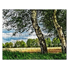 Trees Jigsaw Puzzle (rectangle) by Siebenhuehner