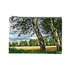 Trees Cosmetic Bag (large) by Siebenhuehner