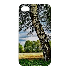 Trees Apple Iphone 4/4s Premium Hardshell Case by Siebenhuehner