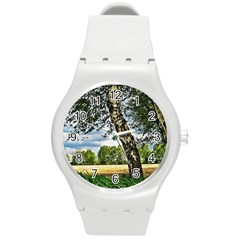 Trees Plastic Sport Watch (medium) by Siebenhuehner