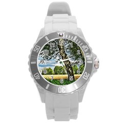 Trees Plastic Sport Watch (large) by Siebenhuehner