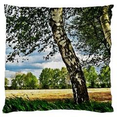Trees Large Cushion Case (single Sided)  by Siebenhuehner