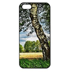Trees Apple Iphone 5 Seamless Case (black) by Siebenhuehner