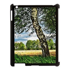 Trees Apple Ipad 3/4 Case (black) by Siebenhuehner