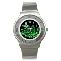 Modern Art Stainless Steel Watch (unisex) by Siebenhuehner