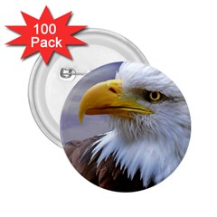 Bald Eagle 2 25  Button (100 Pack) by Siebenhuehner