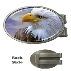 Bald Eagle Money Clip (oval) by Siebenhuehner