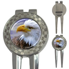 Bald Eagle Golf Pitchfork & Ball Marker by Siebenhuehner