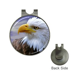 Bald Eagle Hat Clip With Golf Ball Marker by Siebenhuehner