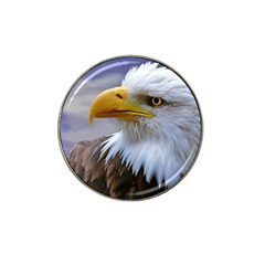 Bald Eagle Golf Ball Marker (for Hat Clip) by Siebenhuehner