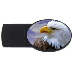 Bald Eagle 4gb Usb Flash Drive (oval) by Siebenhuehner