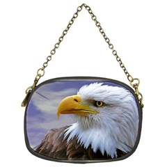 Bald Eagle Chain Purse (two Sided)  by Siebenhuehner