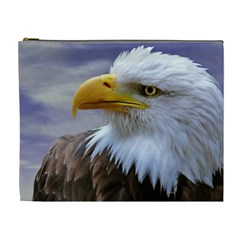 Bald Eagle Cosmetic Bag (xl) by Siebenhuehner