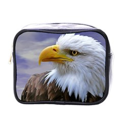 Bald Eagle Mini Travel Toiletry Bag (one Side) by Siebenhuehner