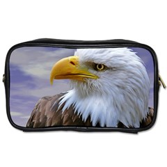 Bald Eagle Travel Toiletry Bag (one Side) by Siebenhuehner
