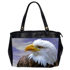 Bald Eagle Oversize Office Handbag (two Sides) by Siebenhuehner