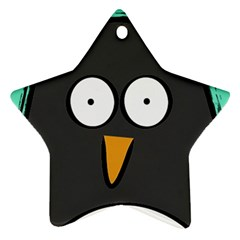 Penguin Star Ornament