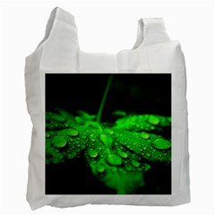 Waterdrops Recycle Bag (two Sides) by Siebenhuehner