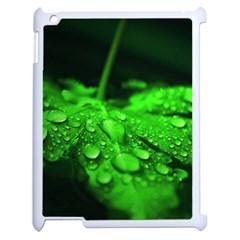 Waterdrops Apple Ipad 2 Case (white) by Siebenhuehner