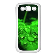 Waterdrops Samsung Galaxy S3 Back Case (white) by Siebenhuehner