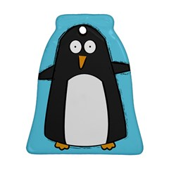 Hello Penguin Bell Ornament