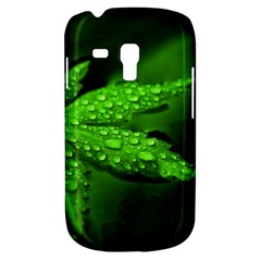 Leaf With Drops Samsung Galaxy S3 Mini I8190 Hardshell Case by Siebenhuehner