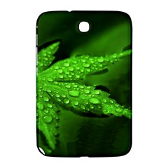 Leaf With Drops Samsung Galaxy Note 8 0 N5100 Hardshell Case  by Siebenhuehner