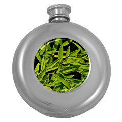 Bamboo Hip Flask (round) by Siebenhuehner