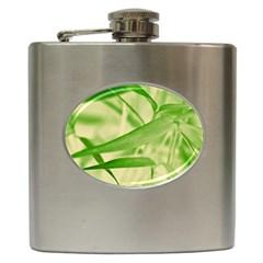 Bamboo Hip Flask
