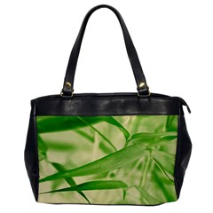 Bamboo Oversize Office Handbag (one Side) by Siebenhuehner