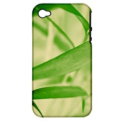 Bamboo Apple Iphone 4/4s Hardshell Case (pc+silicone) by Siebenhuehner