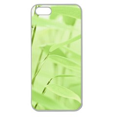 Bamboo Apple Seamless Iphone 5 Case (clear) by Siebenhuehner