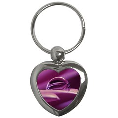 Waterdrop Key Chain (heart) by Siebenhuehner