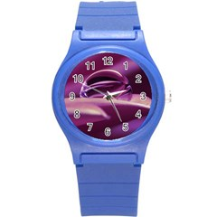 Waterdrop Plastic Sport Watch (small) by Siebenhuehner