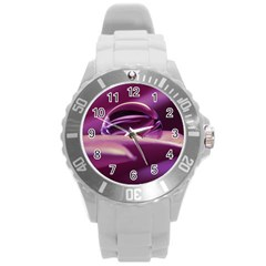 Waterdrop Plastic Sport Watch (large) by Siebenhuehner