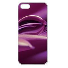 Waterdrop Apple Seamless Iphone 5 Case (clear) by Siebenhuehner