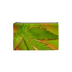 Leaf Cosmetic Bag (small) by Siebenhuehner