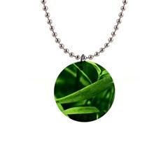 Bamboo Button Necklace