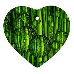Magic Balls Heart Ornament by Siebenhuehner