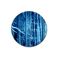 Blue Bamboo Drink Coasters 4 Pack (round) by Siebenhuehner