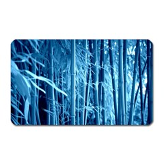 Blue Bamboo Magnet (rectangular) by Siebenhuehner