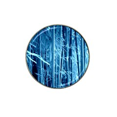 Blue Bamboo Golf Ball Marker (for Hat Clip) by Siebenhuehner
