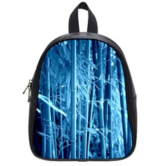 Blue Bamboo School Bag (small) by Siebenhuehner