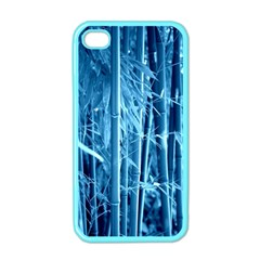 Blue Bamboo Apple Iphone 4 Case (color) by Siebenhuehner