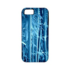 Blue Bamboo Apple Iphone 5 Classic Hardshell Case (pc+silicone) by Siebenhuehner