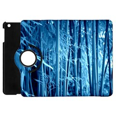 Blue Bamboo Apple Ipad Mini Flip 360 Case by Siebenhuehner