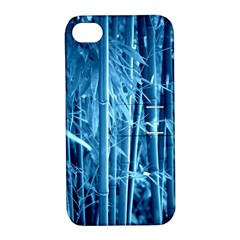 Blue Bamboo Apple Iphone 4/4s Hardshell Case With Stand by Siebenhuehner
