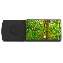 Bamboo 4gb Usb Flash Drive (rectangle) by Siebenhuehner